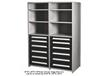 CUSTOM DESIGN SHELVING UNITS WITH MODUALR DRAWERS